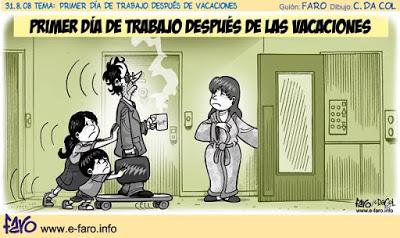 Síndrome postvacacional infantil, ¿qué es eso? - Dra. Amalia Arce