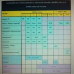 Calendario de vacunación del año 2012