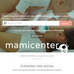 Mamicenter: información pediátrica online a tu servicio