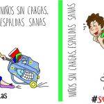 La vuelta al cole… ¿con o #sinmochilas?